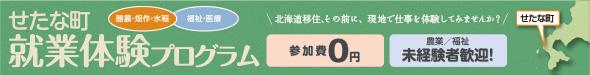 せたな町×北海道生活連携企画